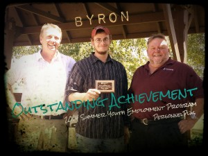 Byron L Outstanding Achievement Award